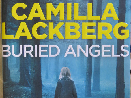 Review: BURIED ANGELS, Camilla Lackberg