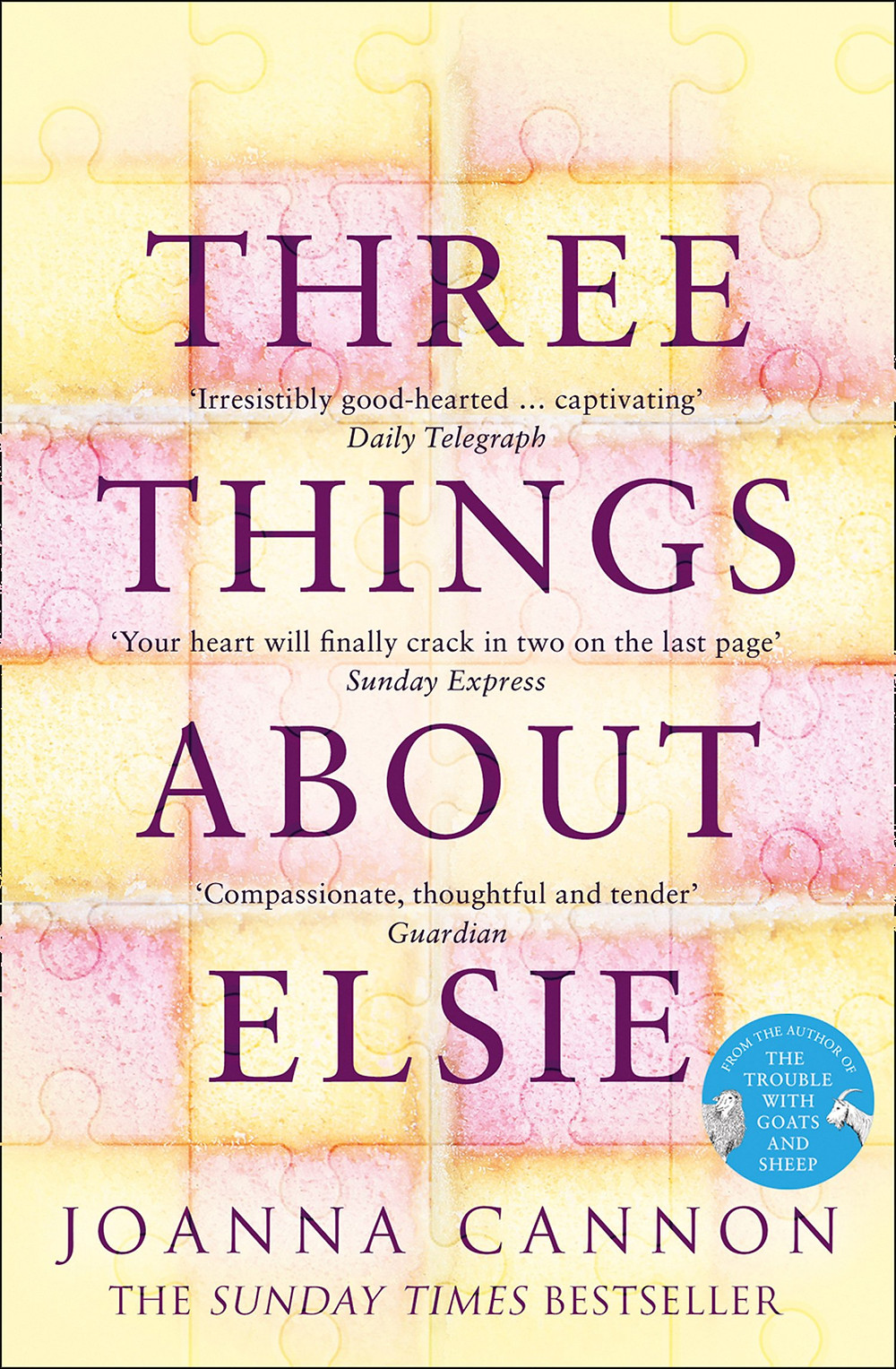 Three Things About Elsie, by Joanna Cannon. Review by Barbara Copperthwaite
