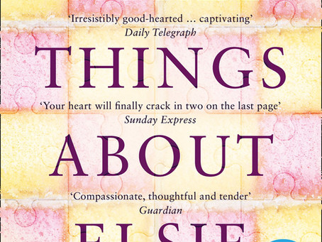 Review: THREE THINGS ABOUT ELSIE, Joanna Cannon