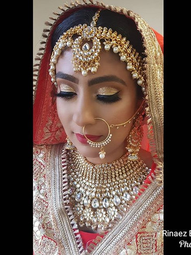 Bridal hair and makeup by Rinaez beauty_
