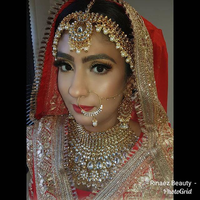 Sikh wedding, bridal hair and makeup by
