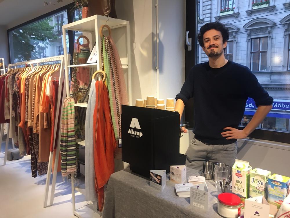 Kaffee Catering für Event am 12.5.2019 von we bandits Neubaugasse