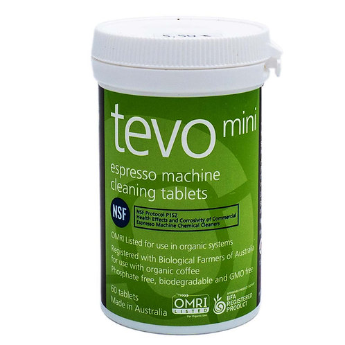 Cafetto tevo mini Espresso & Kaffeemaschinen Reiniger Tabletten 60 Stück