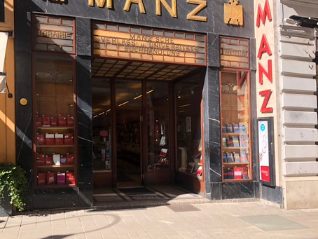 Akrap Finest Coffee @ MANZ Buchhandlung