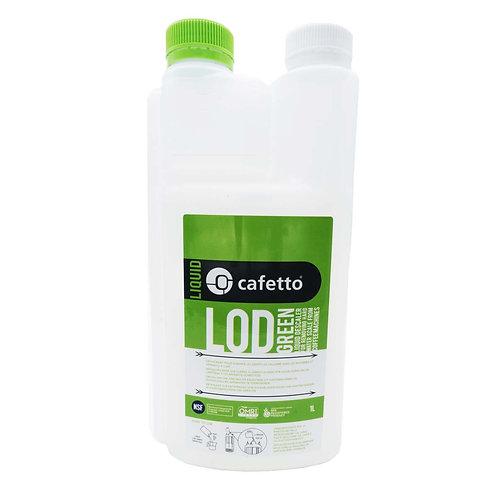 Cafetto LOD GREEN, flüssiger Entkalker 1l
