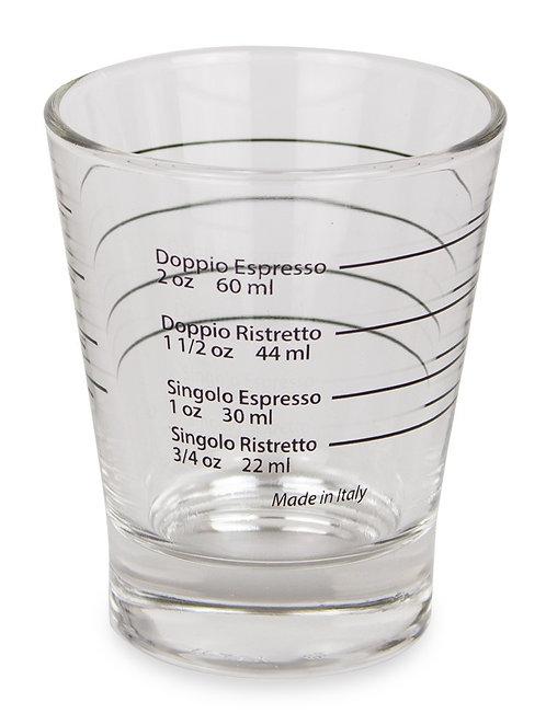 Espresso Shot Glas mit Skala