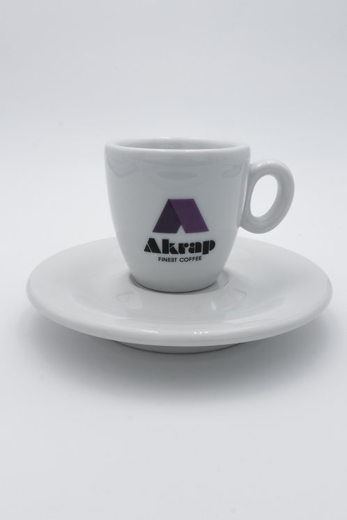 Espressotasse Akrap Logo