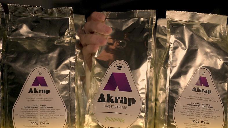 Akrap Finest Coffee Angebote und DIenstleistungen