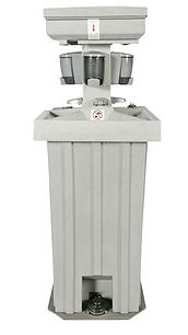 Freestanding washstand