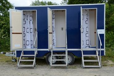 4 bay LPG shower trailer