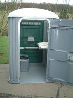 easy access portable toilet