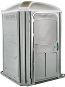 Easy access portable toilet