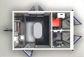 interior layout of a welfare unit