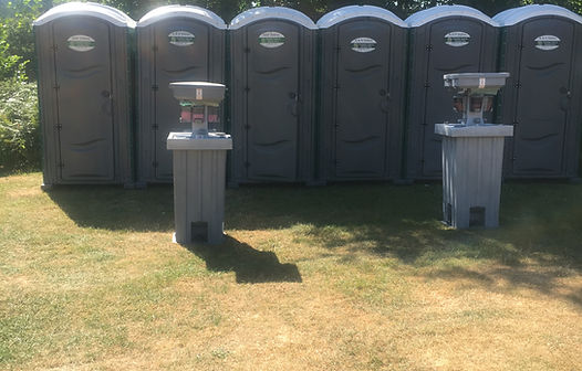 Portable Toilet & washstands on hire