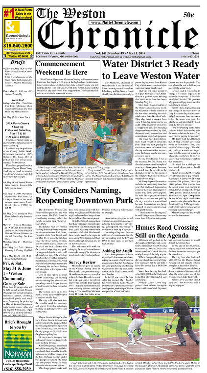Weston Chronicle 05152019 Page 1.jpg