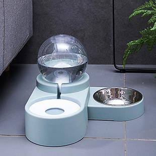 Bubble Food & Water Dispenser