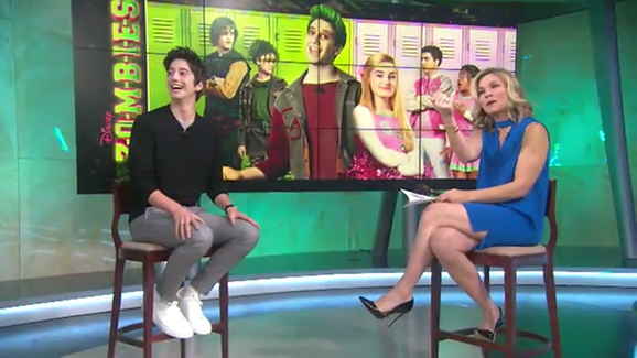 Milo Manheim - 'Zombies' press