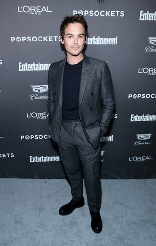 Tyler Blackburn - 2019 Entertainment Weekly party
