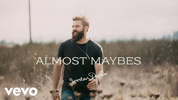 Jordan Davis - 'Almost Maybes' single artwork