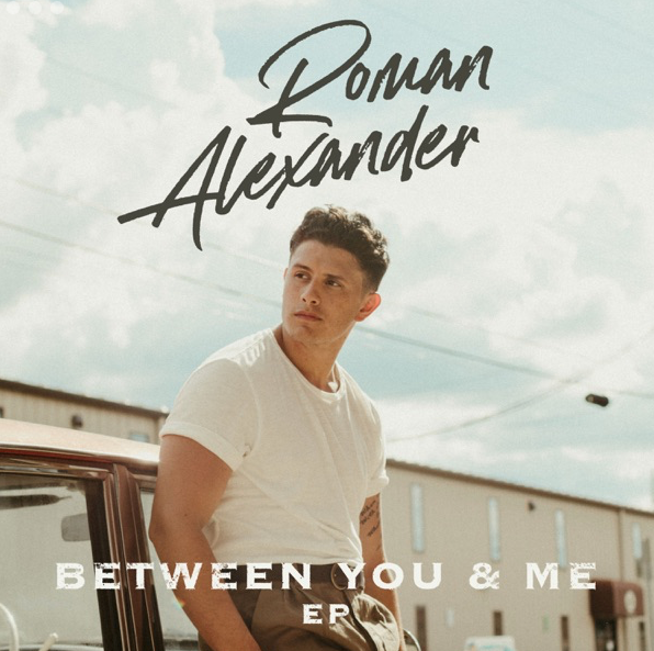 Roman Alexander - 'Between You & Me' EP cover