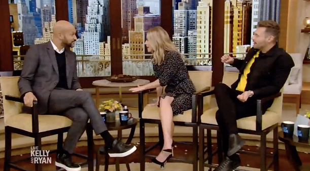 Keegan-Michael Key - Live with Kelly ad Ryan