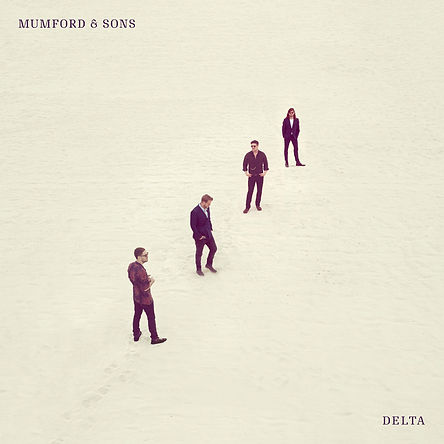 Mumford & Sons - 'Delta' abum cover - Shot by Alistair Taylor-Young