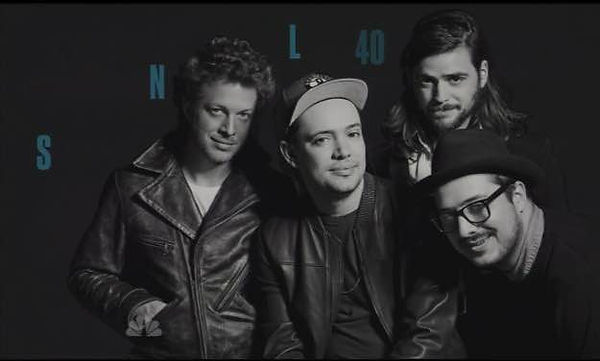 Mumford & Sons - Saturday Night Live - April 2014