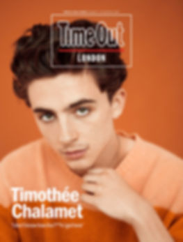 Timothée Chalamet - Time Out London Magazine, Oct. 2018 - Shot by Austin Hargrave