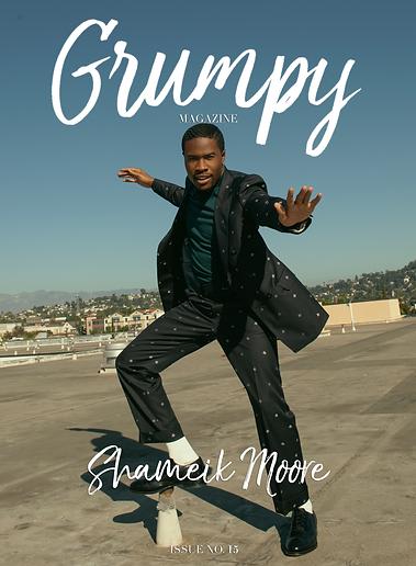 Grumpy Magazine - Shameik Moore - Winter 2019/2020