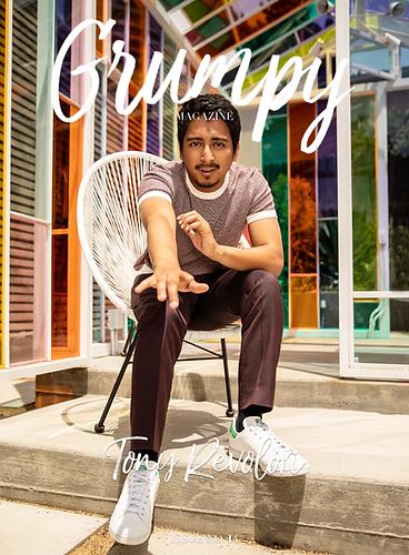 Tony Revolori - Grumpy Magazine - July 2019