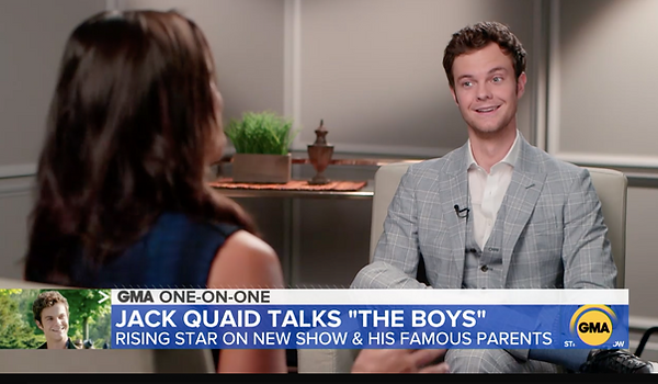 Jack Quaid - Good Morning America