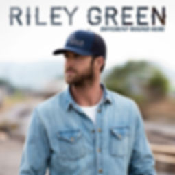 Riley Green - 'Different 'Round Here' album cover