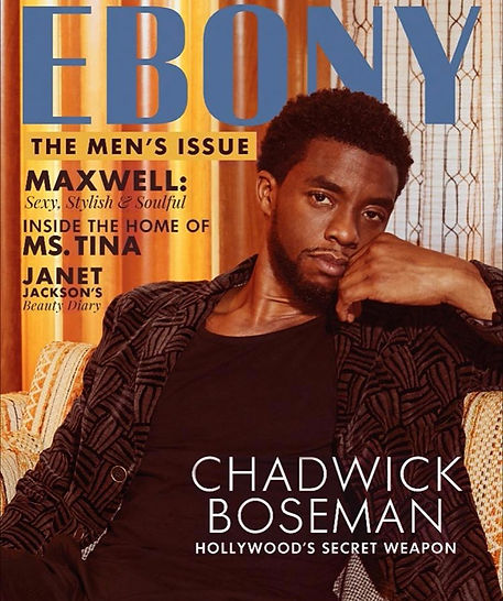 Ebony Magazine - Oct. 2017 issue - Chadwick Boseman