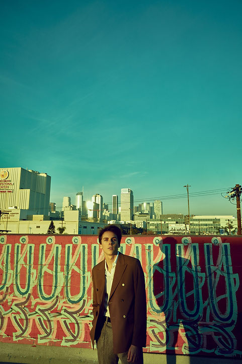Flaunt Magazine - Jacob Bertrand - Shot by Storm Santos