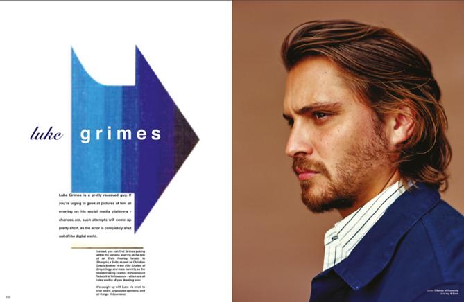 Luke Grimes - 1883 Magazine June 2019 issue