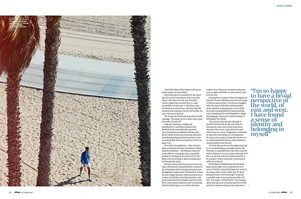 Attitude Magazine - Oct. '20 - Henry Golding