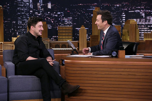 Marcus Mumford - The Tonight Show with Jimmy Fallon