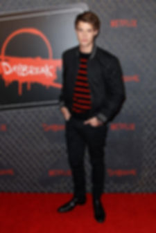Colin Ford - 'Daybreak' premiere New York Comic-Con