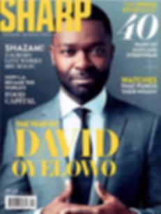 David Oyelow - Sharp Magazine - April 2019 Issue