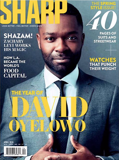 David Oyelow - Sharp Magazine - April 2019 Issue