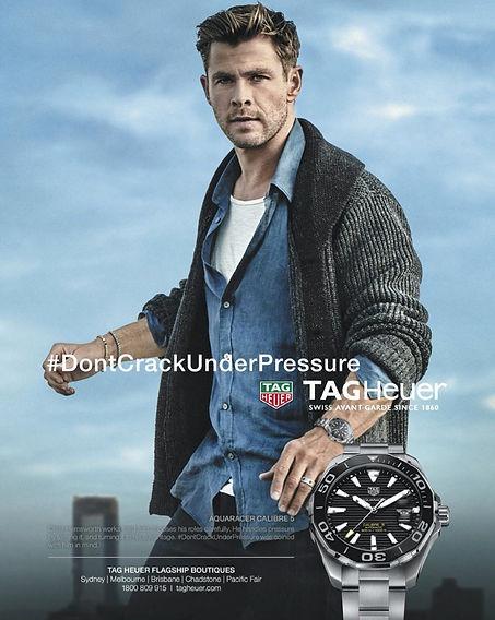 Chris Hemsworth - Tag Heuer