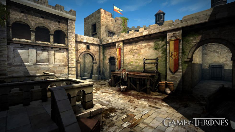 GOT Kings Landing Courtyard