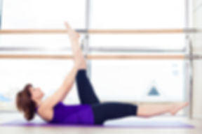 Example of a Mat Pilates Pose