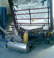 dry_bulk_liner_discharging_system_container