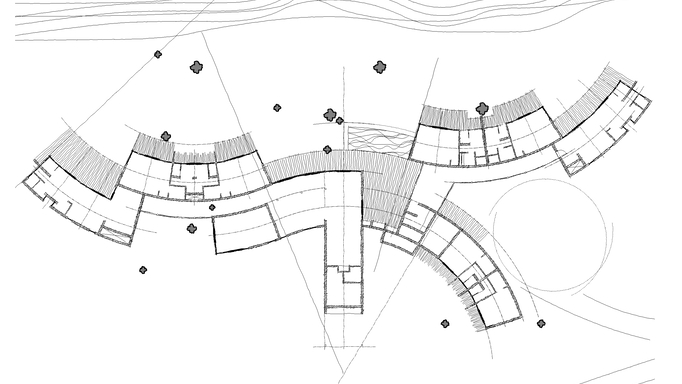 Makanyane Lodge Sketch Plan