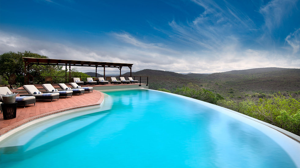 phinda mountain lodge pool