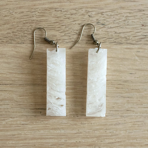 Toilet Paper Column Pierced Dangle Earring