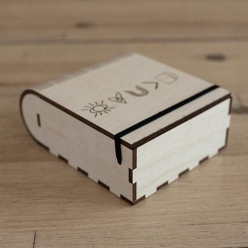 Handmade Basswood Gift Box