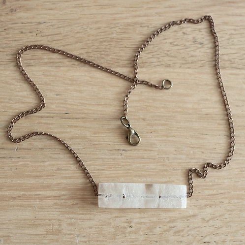 Toilet Paper Bar Pendant with Copper finish Chain