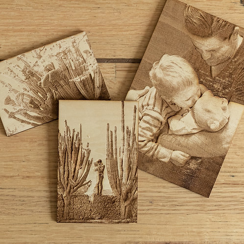 GalleryCarve- Personalized Wooden Photographs